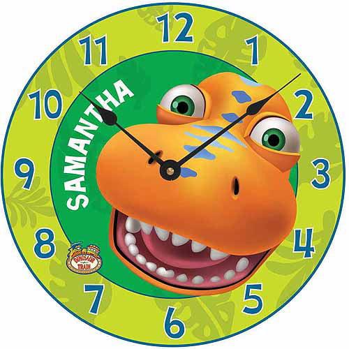 Personalized Dinosaur Train Hello Buddy Wall Clock