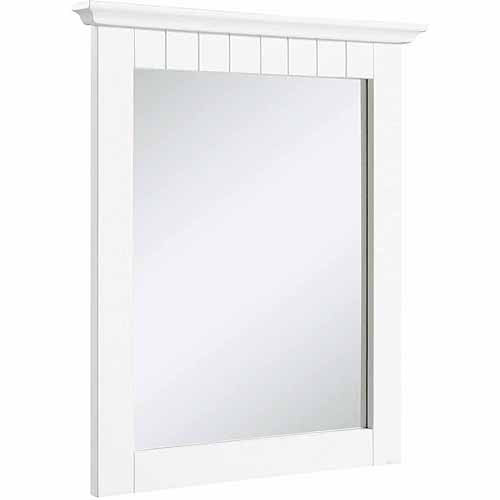Design House 541581 Cottage White Mirror