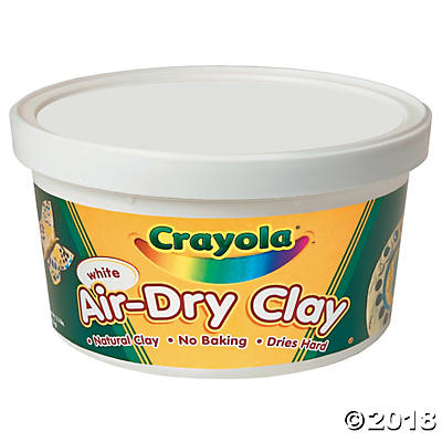 Crayola® Air-Dry Clay - 2 1/2 lbs(pack of 6)