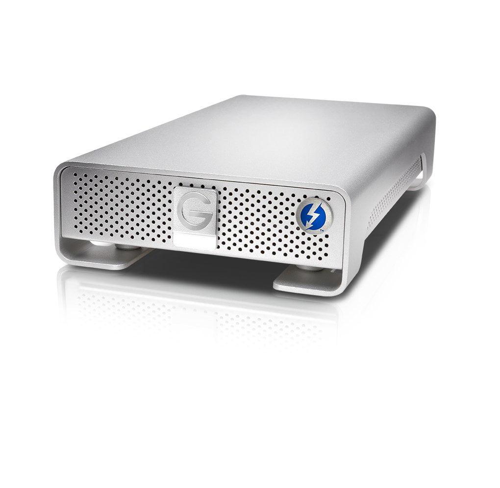 G-Tech G-DRIVE Thunderbolt USB 3.0 3TB Silver PA (0G03124) - Walmart.com
