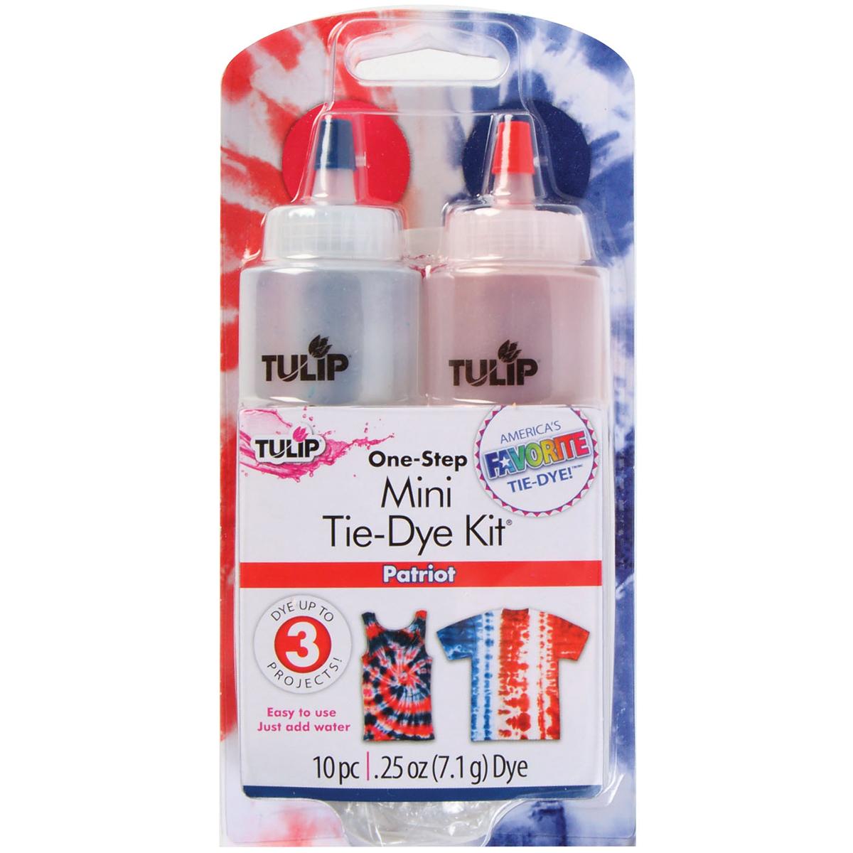 Tulip One-Step Mini Tie-Dye Kit-Patriot