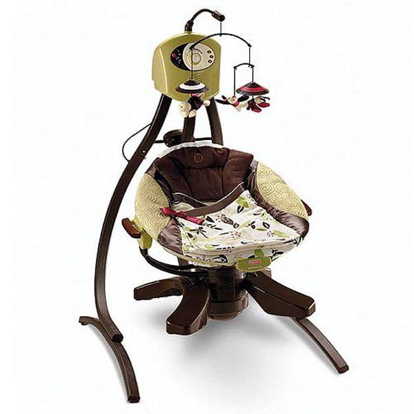 Fisher Price Baby Cradle Swing Zen Collection Walmart Com