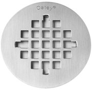 4-1/4-Inch Stainless-Steel Replacement Strainer Cover