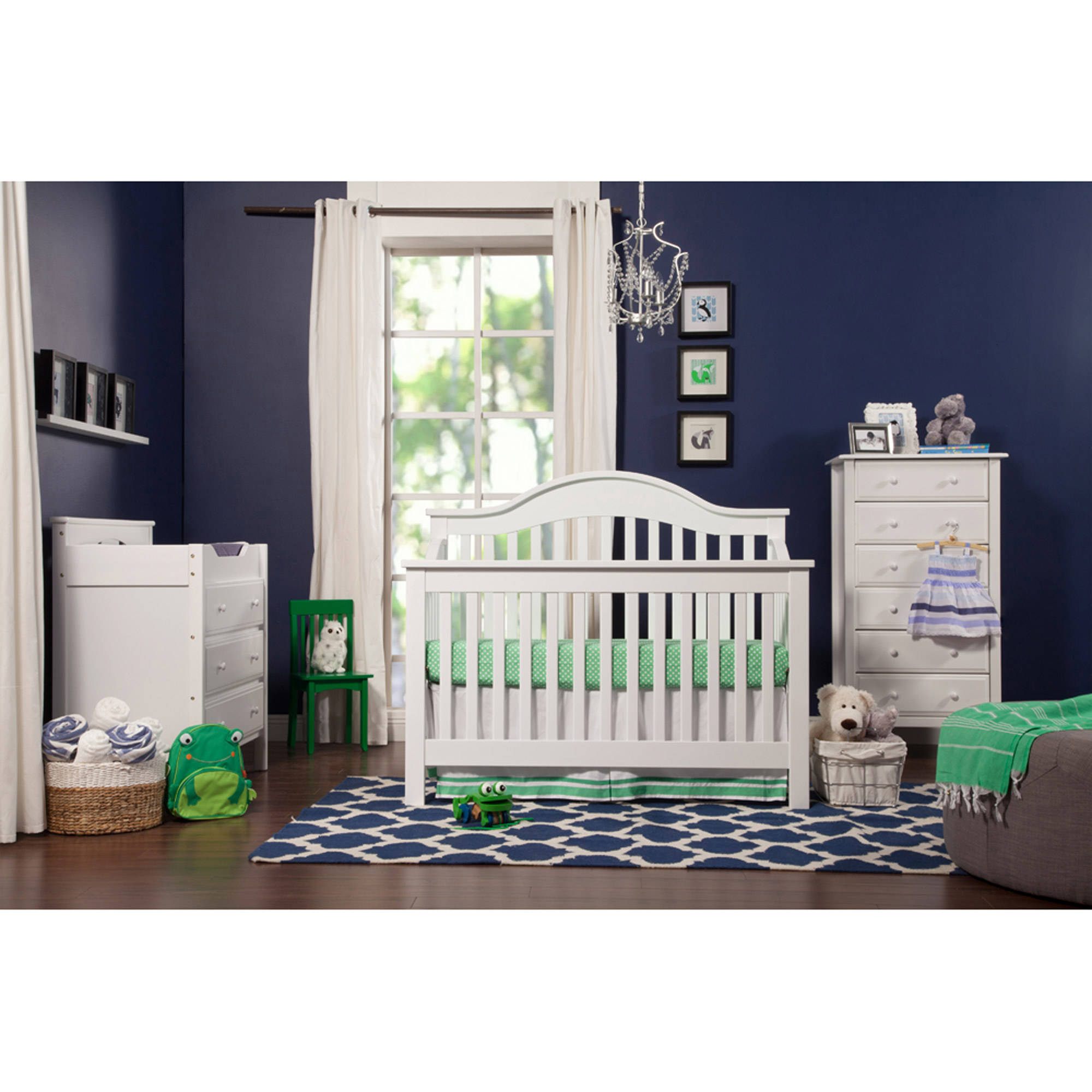 DaVinci - Jayden Stages 4-in-1 Fixed Side Crib, White