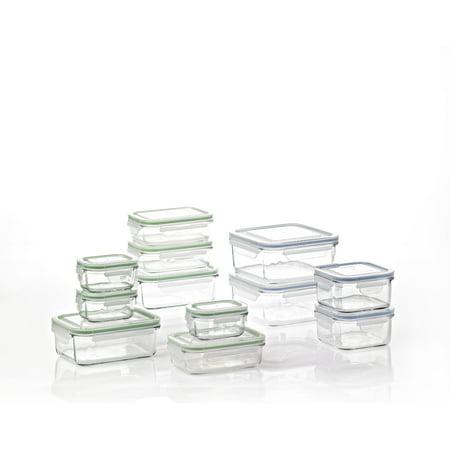 Glasslock Classic 24 pc Glass Storage -