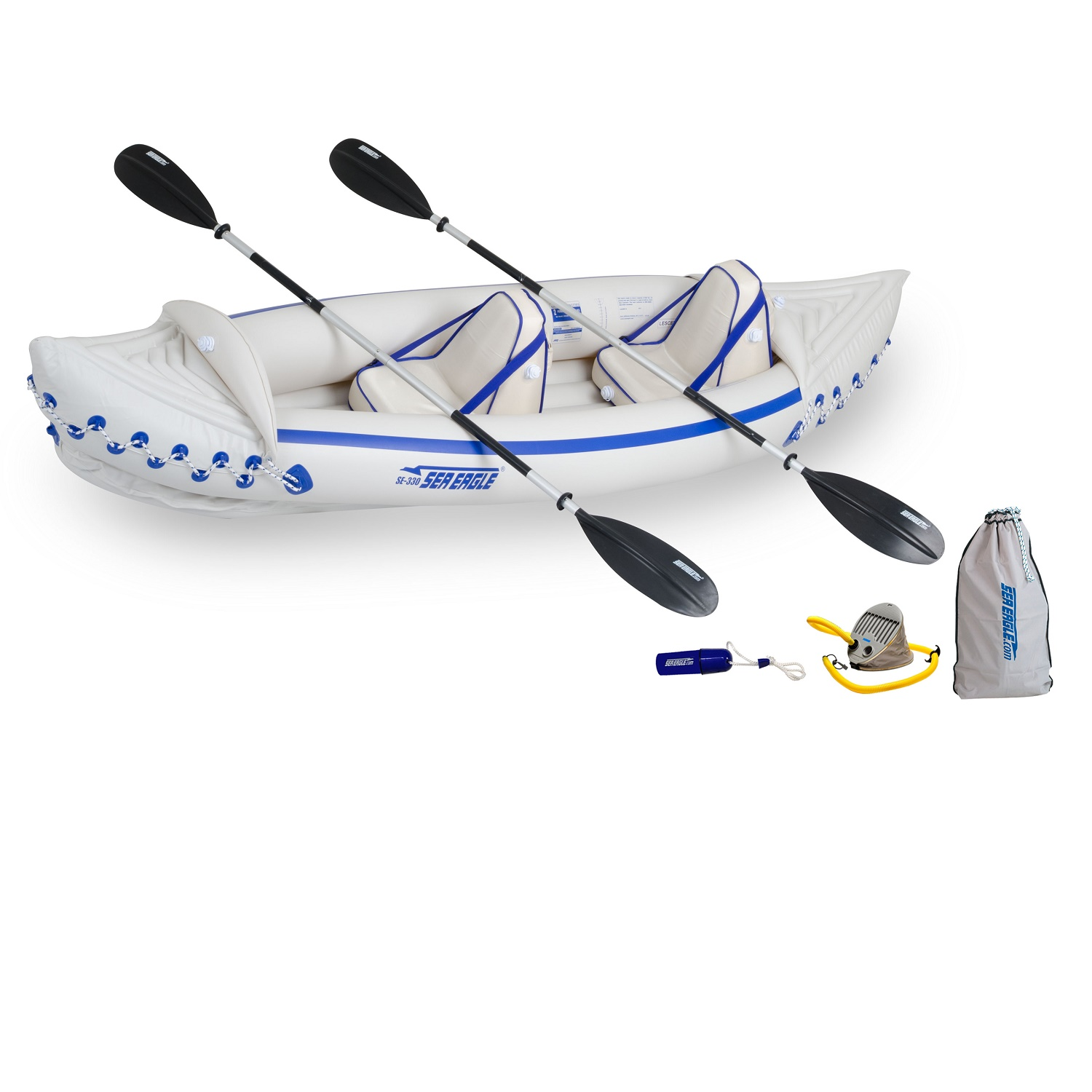 Sea Eagle 330 Kayak Pro Package by Sea Eagle