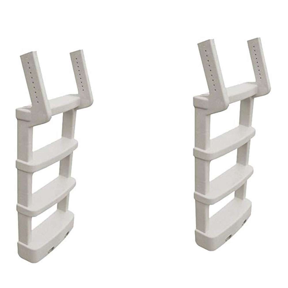 Main Access Comfort Incline Ladder for Above Ground Swimming Pools (2 Pack)
