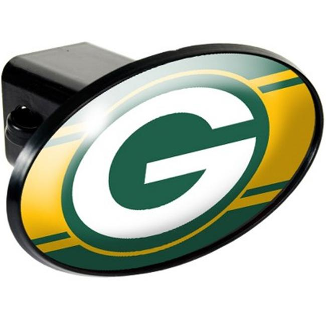 Great American Products 72016 Trailer Hitch Cover- Green Bay Packers