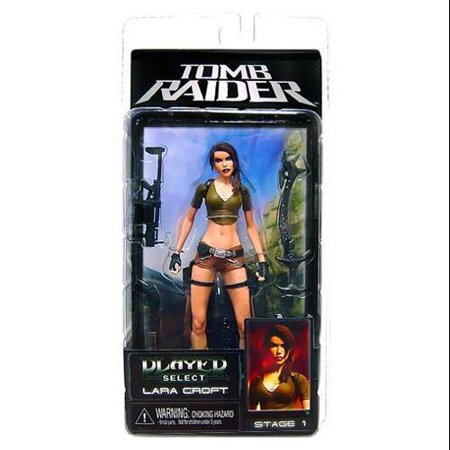 NECA Hitman Player Select Series 1 Lara Croft Action Figure (Lara Croft Action Figure)