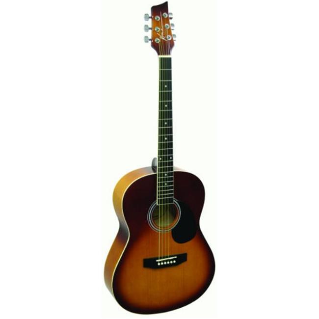 Kona Left 39in Acoustic Honeyburst - K391L-HSB