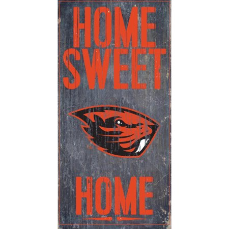 Oregon State Beavers 6'' x 12'' Home Sweet Home Sign - No Size ()