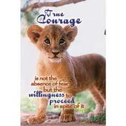 """Banner-Courage (12"""" x 18"""") (Indoor)"""