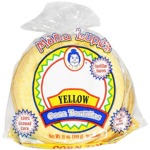 Mama Lupe's: Tortillas Yellow Corn, 21 Oz