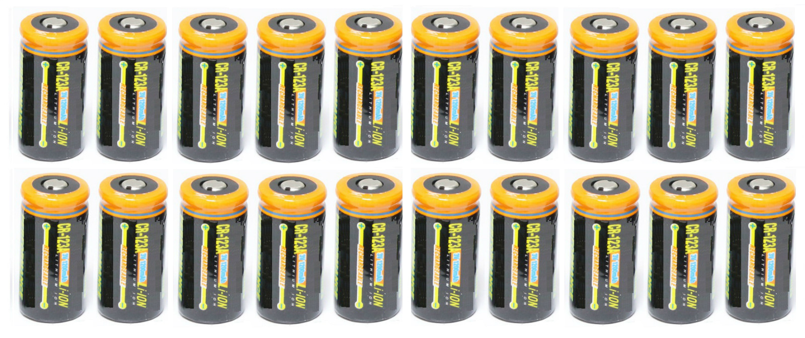 Ultimate Arms Gear 20 Pack CR123A 1200 mAh Lithium Rechargeable Batteries Battery For EOTECH Optics by