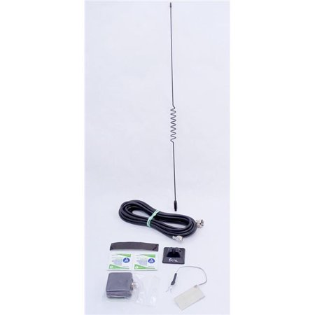 PCTEL-Maxrad APR153 15 ft. & 5 in. 150-174MHz Open Coil Glass Mount VHF Antenna with RG58U Coax Cable & Pl259 Connector - 50 watt ()