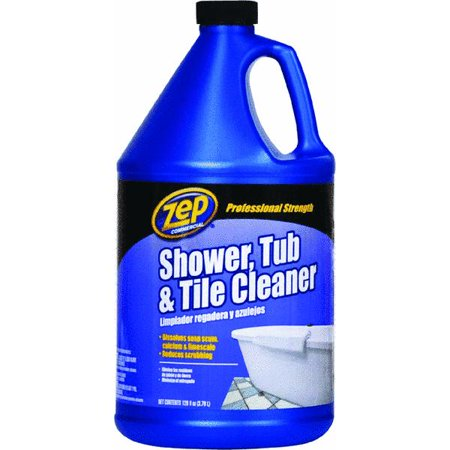 Zep Commercial Shower  Tub and Tile Cleaner  1 gal. Zep Commercial Shower  Tub and Tile Cleaner  1 gal   Walmart com