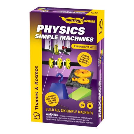 Physics Simple Machines Multi-Colored
