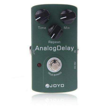 joyo jf-33 analog delay electric guitar effect reverb overdrive pedal chorus true bypass looper