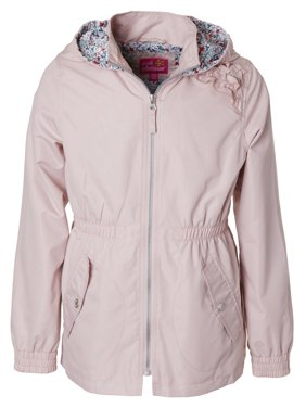 c84e7e8f7860 Product Image Sueded Ruffled Hooded Anorak Jacket (Little Girls & Big Girls)
