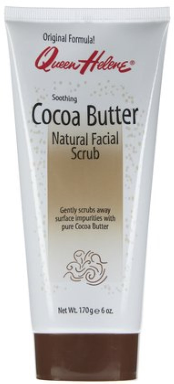 helene natural Queen scrub butter cocoa facial
