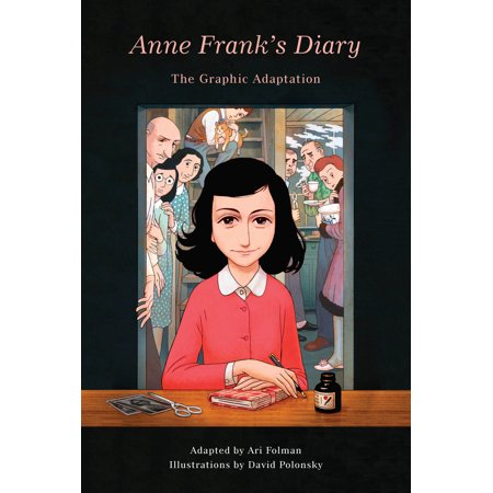 Anne Frank's Diary: The Graphic Adaptation (The Diary Of Anne Frank Tv Series)