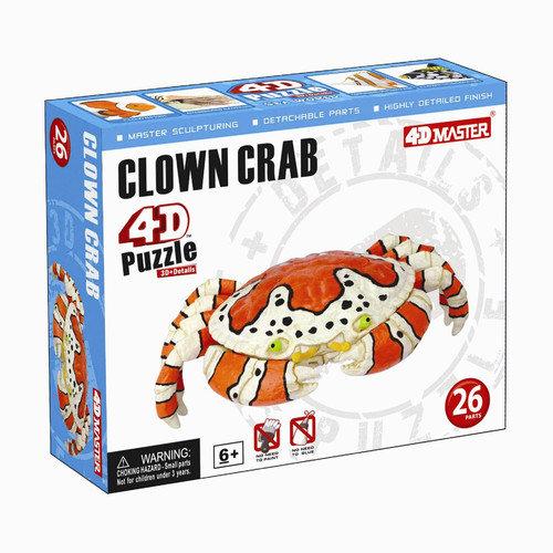 Tedco Toys Clown Crab 4D Puzzle
