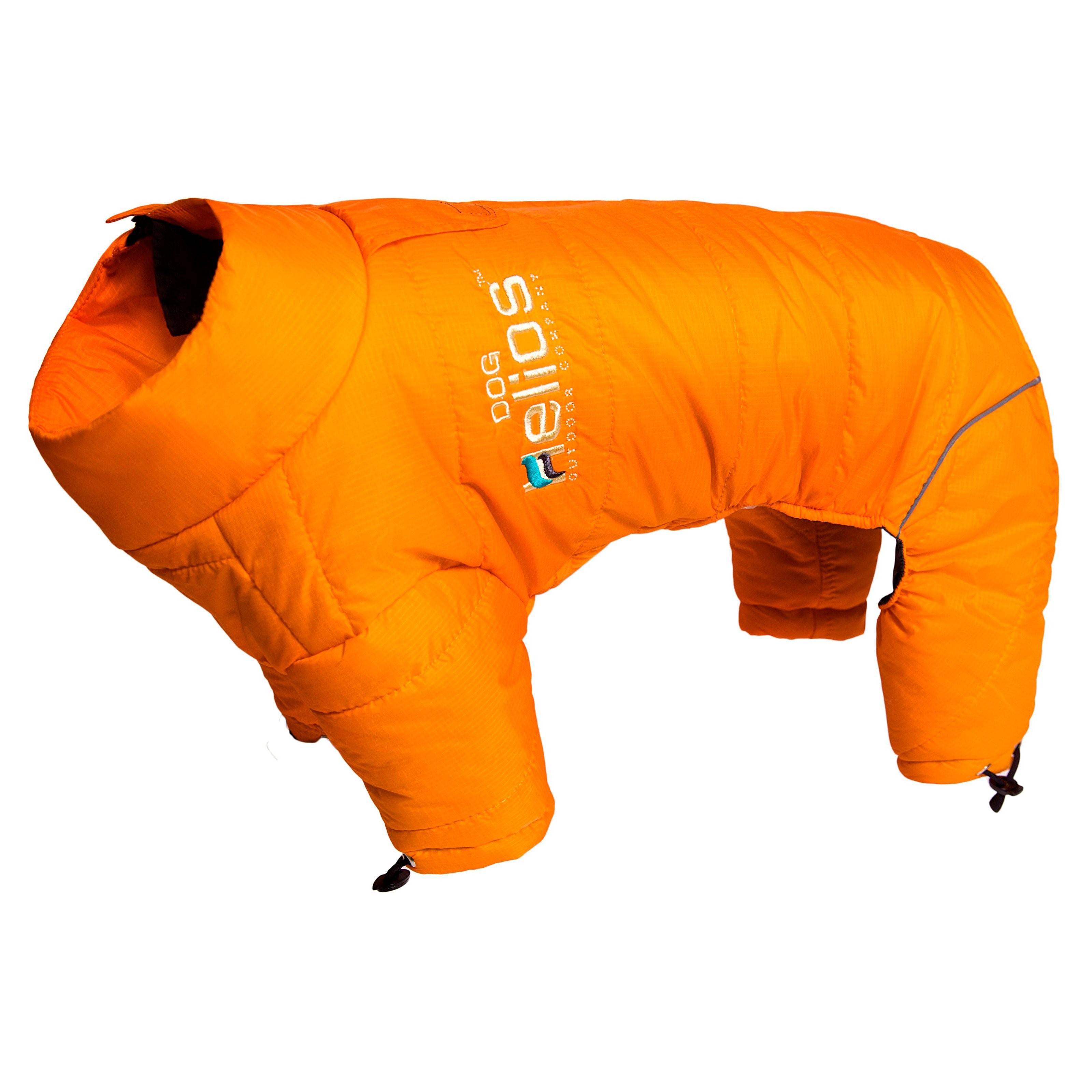 Pet Life Helios Thunder-Crackle Full-Body Waded-Plush Adjustable and 3M Reflective Dog Jacket
