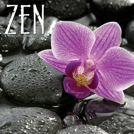 - 2019 Zen Mini Calendar