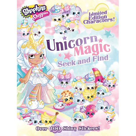 Shoppies Unicorn Magic Seek & Find