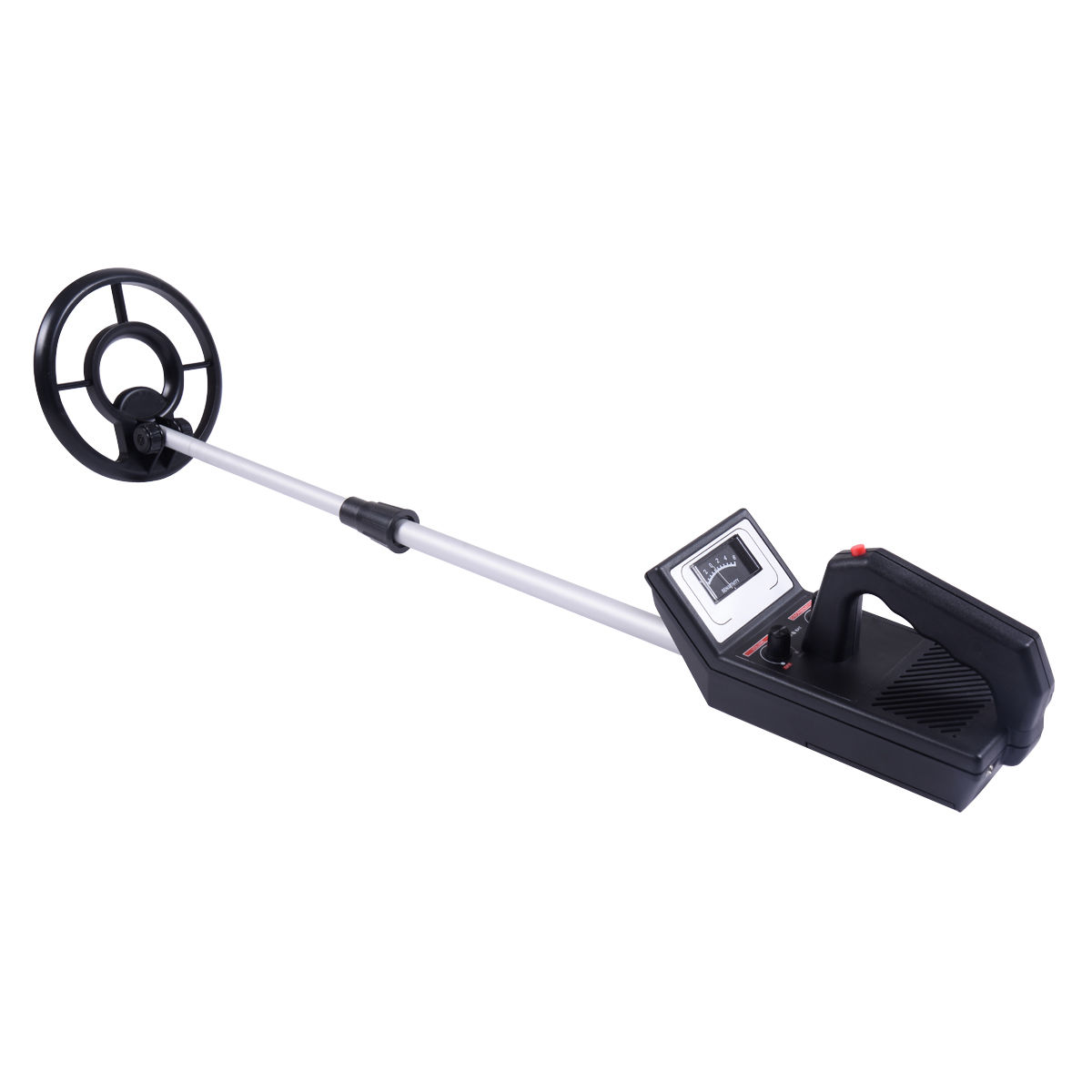 Click here to buy Costway Waterproof Metal Detector 7.5'' Sensitive Search Gold Digger Hunter Free Earphone by Costway.