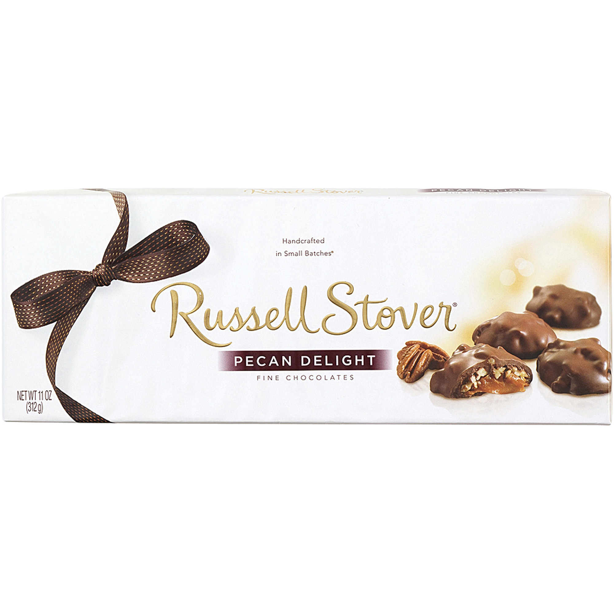 Russell Stover Pecan Delight Fine Chocolates, 11 Oz