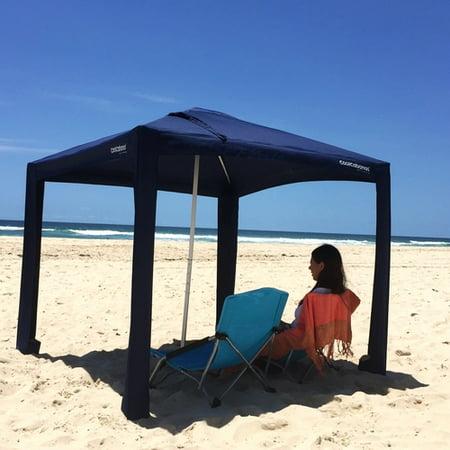 Cool Cabana Beach And Sun Umbrella Shelters Classic Navy