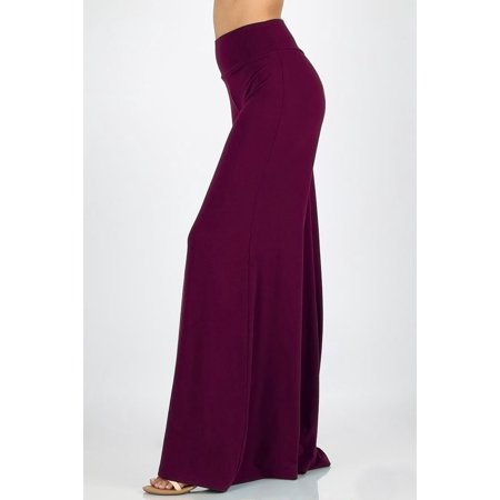 JED FASHION Tall Womens Wide Leg Palazzo Trouser Pants (Tall Wide Leg Pants)