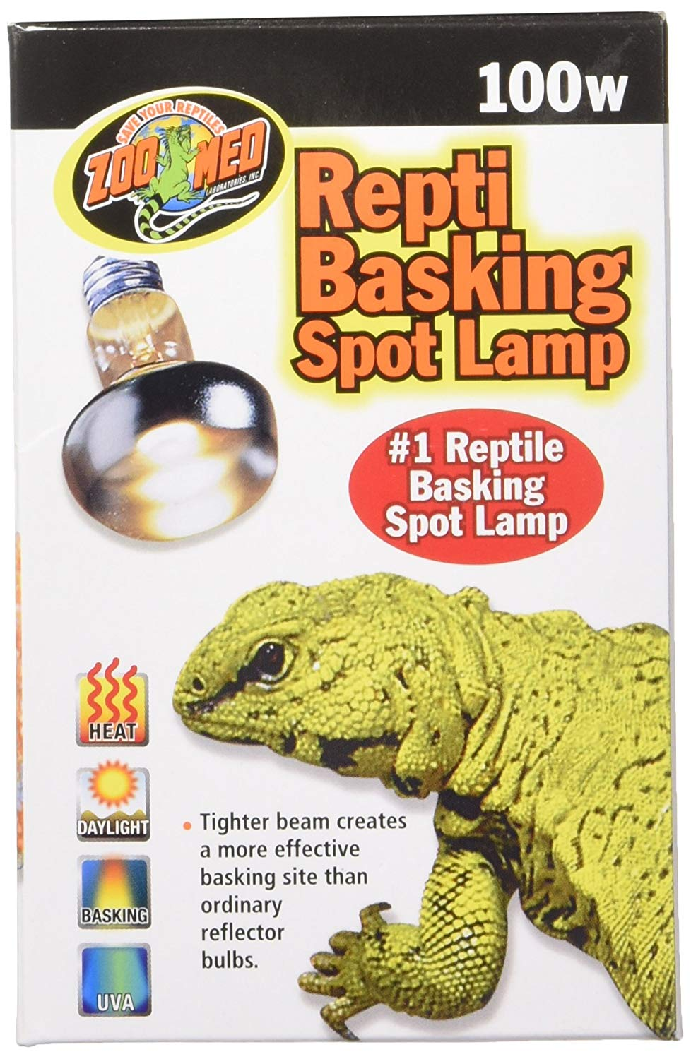 Basking Spot Lamp Zoo Med 100 Watts by