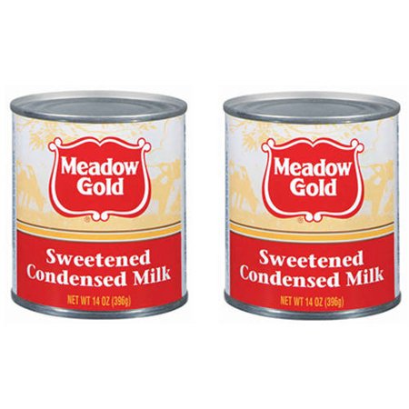 (2 Pack) Meadow Gold Sweetened Condensed Milk, 14 oz Condensed Value Pack