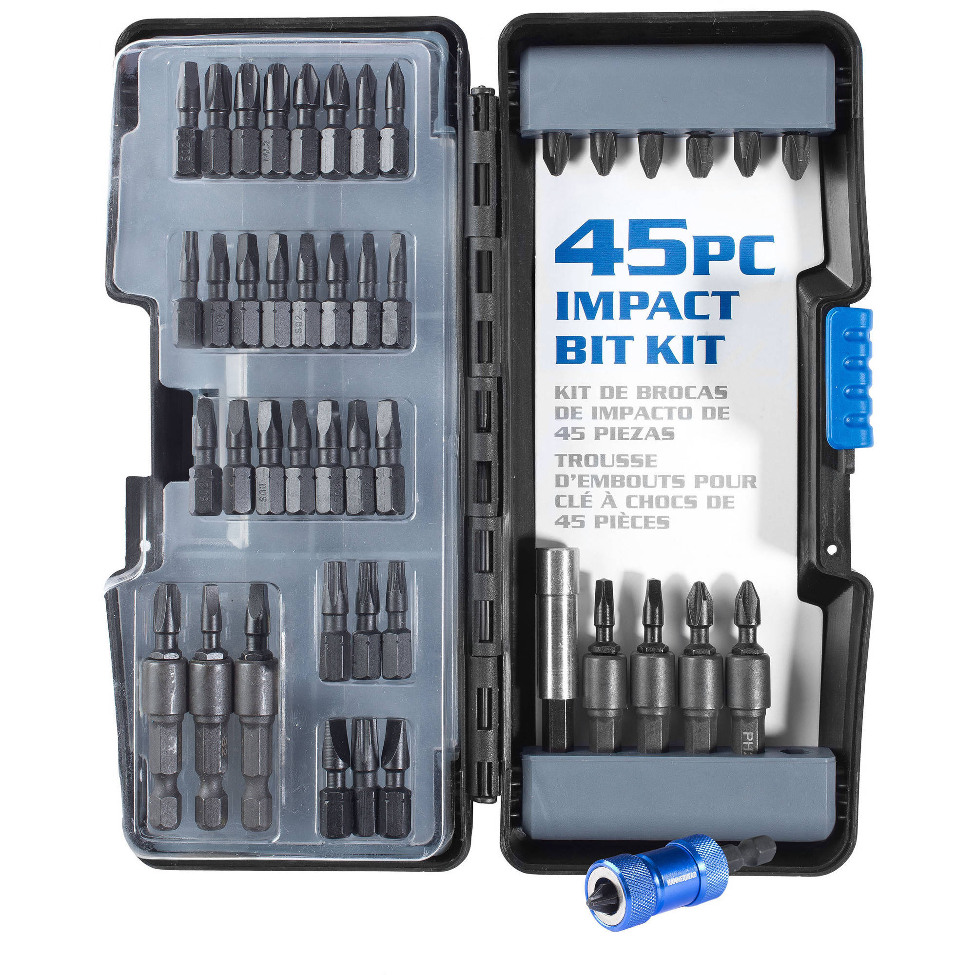 Hammerhead 45pc Impact Bit Kit