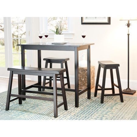 Amazing Safavieh Bistro 4 Piece Counter Height Bench And Stool Pub Set 24 X 44 X 36 Cjindustries Chair Design For Home Cjindustriesco