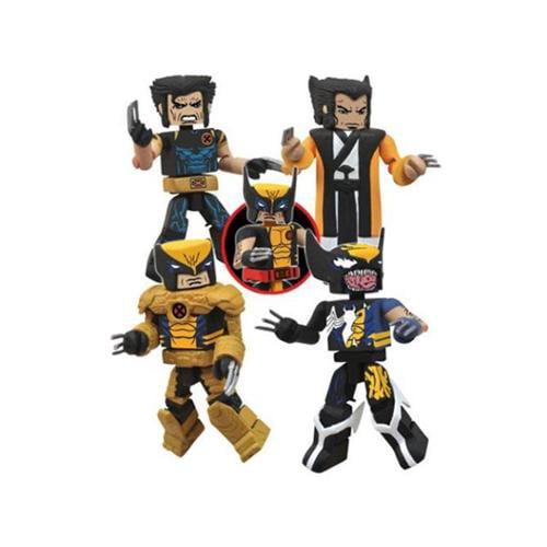 Marvel Wolverine Saga Minimates SDCC 2103 Exclusive Box Set