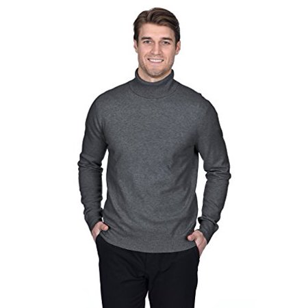 New Mens Cashmere Sweater - State Fusio Men's Cashmere Wool Turtleneck Long Sleeve Pullover Sweater