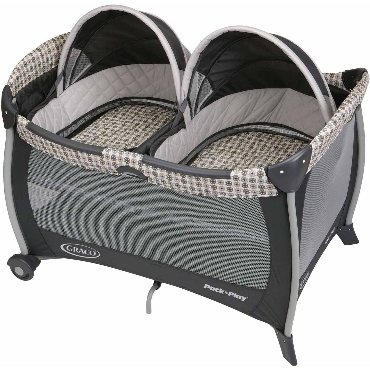 Graco Twins Bassinet Pack 'n Play Play Pen, Vance by Graco