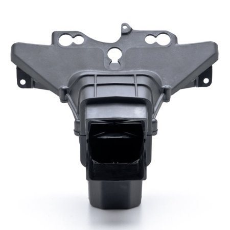 Black Upper Stay Bracket Ram Air Intake Duct for Kawasaki Ninja ZX-6R 2009-2012 NEW Black Upper Stay Bracket Ram Air Intake Duct - image 2 de 5