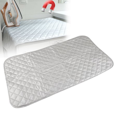 Ironing Mat, Portable Travel Ironing Blanket, Thickened Heat Resistant Ironing Pad Cover for Washer, Dryer, Table Top, Countertop, Small Ironing Board, Polyester & Cotton Iron Rest Pad (45x80cm) (Counter Top Cover)