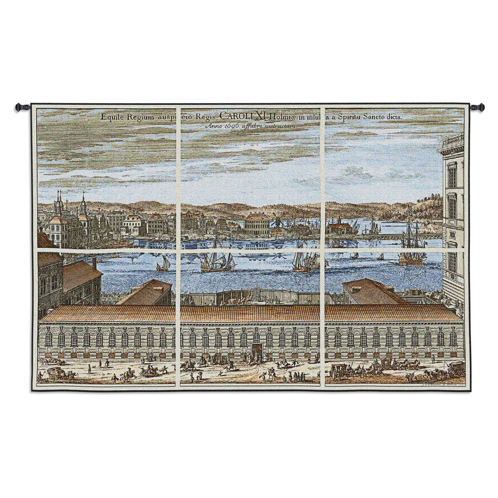 Fine Art Tapestries Citte Di Europa Wall Tapestry by Supplier Generic