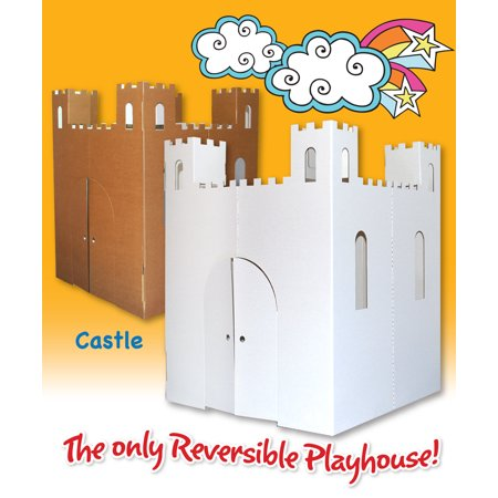Easy Playhouse Castle Cardboard Playhouse