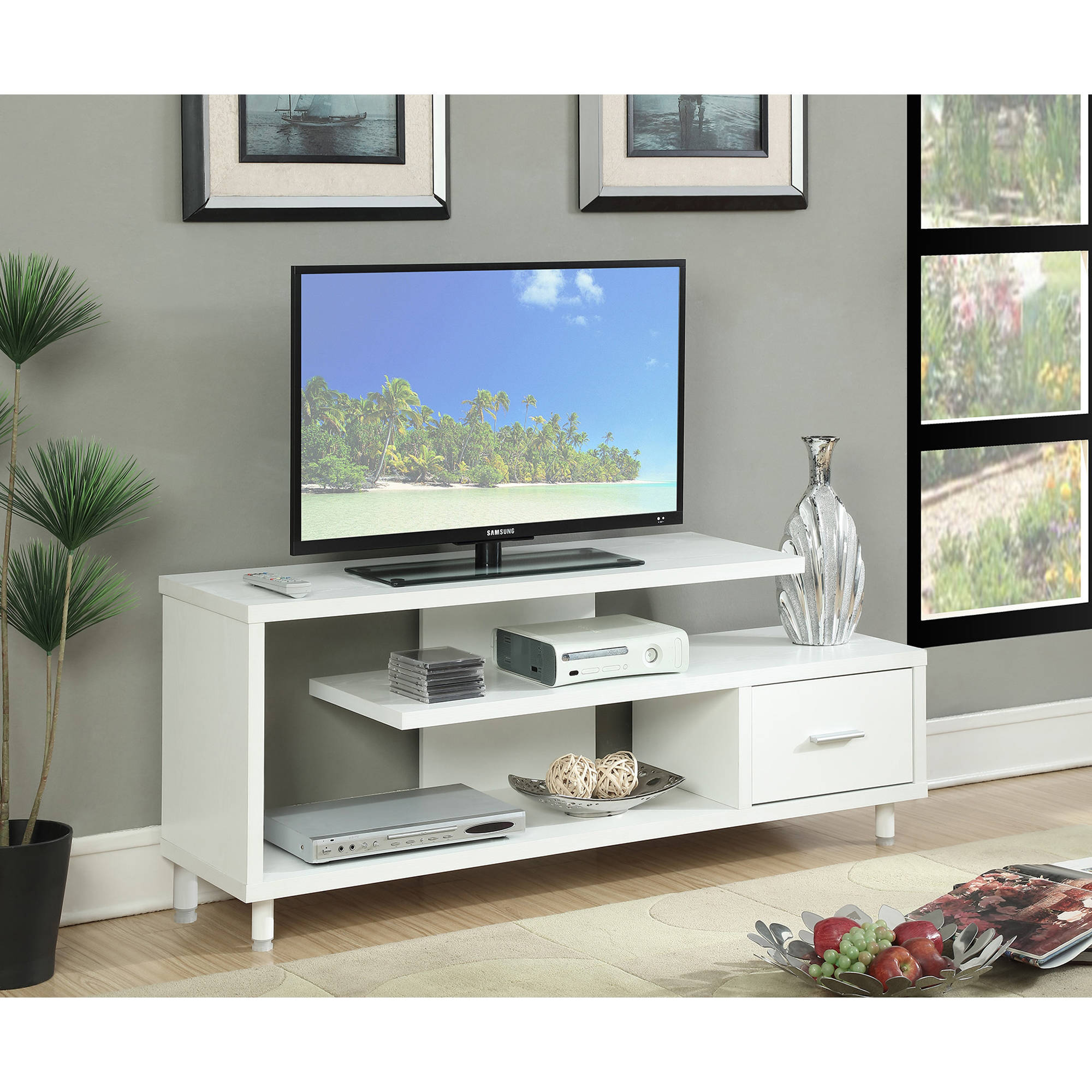 """Convenience Concepts Seal II 60"""" TV Stand"""