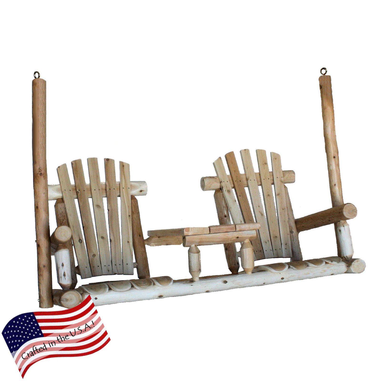 Lakeland Mills Tete-A-Tete Porch Swing