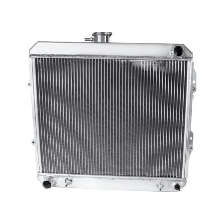 Spec-D Tuning For 1988-1995 Toyota V6 Pickup 3 Core Light Aluminum Performance Cooling Radiator 1988 1989 1990 1991 1992 1993 1994 1995 Pickup Performance Chips