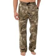 Mossy Oak Men's Relaxed Fit Camo Fleece Sweatpants