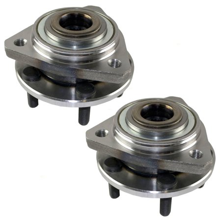 Pair of Front Wheel Hub Bearings Replacement for Dodge Chrysler Plymouth (Plymouth Acclaim Wheel)