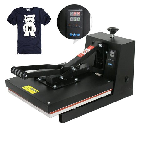 "Zeny 15"" X 15"" CLAMSHELL HEAT PRESS T-SHIRT Digital TRANSFER SUBLIMATION MACHINE"